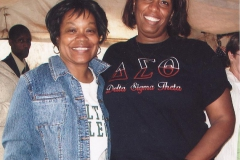 Sorors Holoman and Peters in Kenya